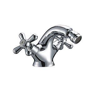 ビデ蛇口 洗浄器用水栓 真鍮製 クロム
