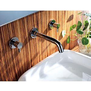 壁付水栓 洗面蛇口 バス水栓 水道蛇口 2ハンドル混合栓