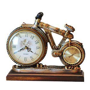 置き時計 卓上時計 自転車型 創意