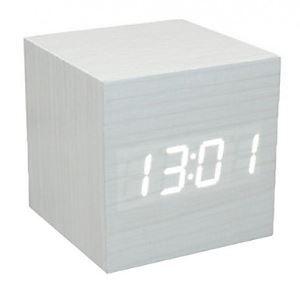 デジタル時計 音声制御 立方体