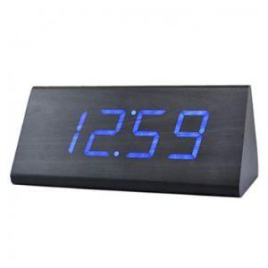 デジタル時計 音声制御 LED付き プリズム