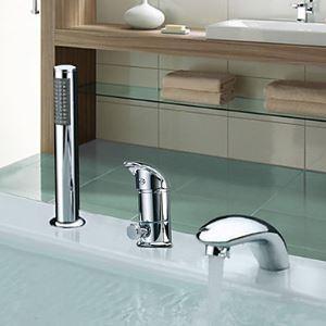 浴槽水栓 バス蛇口 シャワー水栓 ハンドシャワー付き