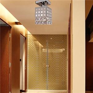 シーリングライト 天井照明 照明器具 玄関照明 クリスタル付 オシャレ 1灯
