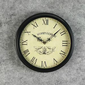 壁掛け時計 ユーロ風 メタル製