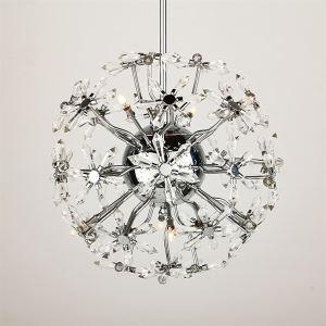 ペンダントライト 天井照明 照明器具 花形 口金G4-8灯
