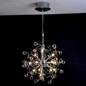 ペンダントライト 天井照明 照明器具 クリスタル付き 15灯