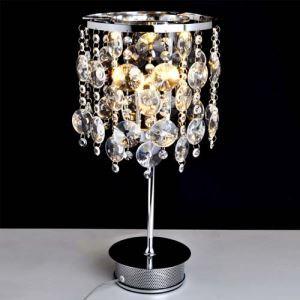 テーブルランプ テーブル照明 テーブルライト スタンド K9クリスタル 口金G4-4灯