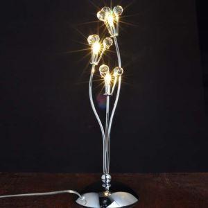 テーブルランプ テーブル照明 テーブルライト スタンド 花束デザイン 口金G4-3灯