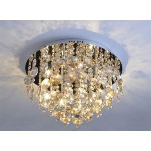 シーリングライト 天井照明 クリスタル 正方形 G9-9灯