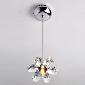 ペンダントライト 照明器具 玄関照明 オシャレ照明 ASFクリスタル 花型 1灯