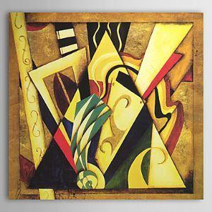 油絵画 手描き抽象画 1305-AB0557