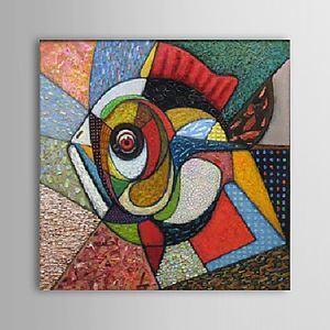 油絵画 手描き抽象画 1305-AB0562