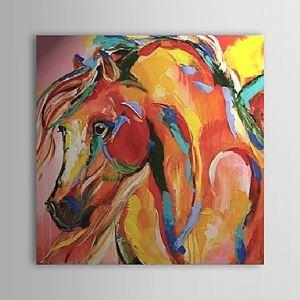 油絵画 手描き抽象画 ファン・ゴッホの手描き「馬」画 1303-AB0425