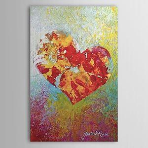 油絵画 手描き抽象画 ファン・ゴッホの手描き「愛」画 1303-AB0414