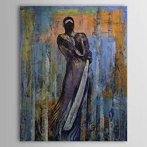 油絵画 手描き人物画 1303-AB0430