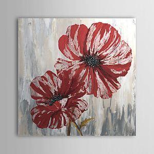 油絵画 手描き植物画 1305-FL0118