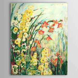 油絵画 手描き植物画 1305-FL0133
