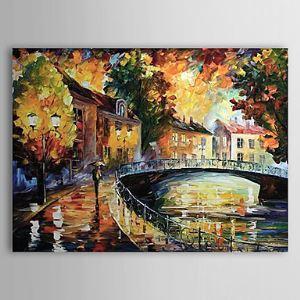 油絵画 手描き風景画 1303-LS0237