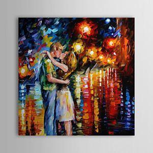 油絵画 手描き風景画 「Kiss」 1303-LS246