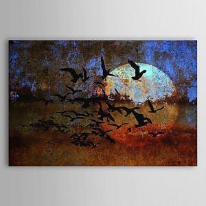 油絵画 手描き風景画 フレームなし 1303-LS0267