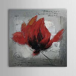 油絵画 手描き植物画 1303-FL75