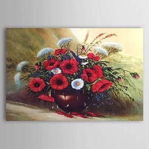 油絵画 手描き静物画 1303-SL0075