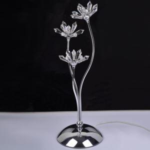 LEDテーブルランプ 卓上照明 テーブルライト スタンド  クリスタル G4-3灯 LED対応