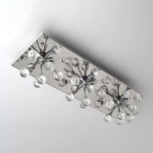 壁掛けライト ウォールランプ 照明器具 ブラケット 照明器具 クリスタル 花型 3灯