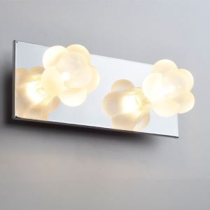 壁掛けライト ブラケット 玄関照明 ウォールランプ 花型 おしゃれ 2灯