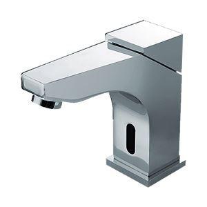 センサー水栓 自動水栓 洗面蛇口 真鍮製 クロム