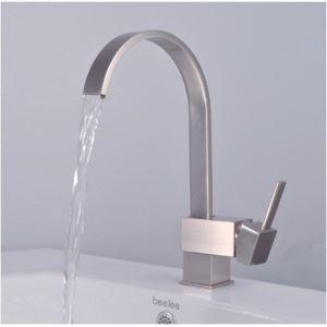 バス水栓 水道蛇口 浴室用蛇口 冷熱混合水栓 ヘアライン