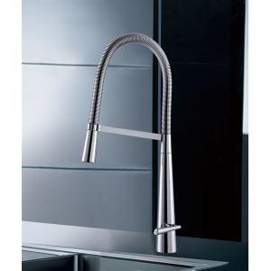 キッチン水栓 台所蛇口 冷熱混合栓 水道蛇口 水栓金具 クロム
