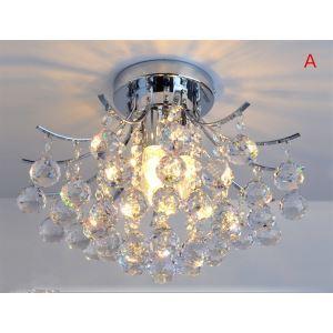 シーリングライト 照明器具 天井照明 リビング用 寝室用 クリスタル付 オシャレ 3灯