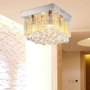 シーリングライト 玄関照明 天井照明 クリスタル 4灯