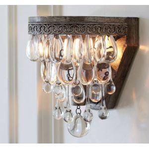 壁掛けライト ウォールランプ 照明器具 ブラケット 玄関照明 クリスタル 豪華的 1灯