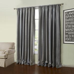 遮光カーテン オーダーカーテン 寝室 リビング グレー 幾何柄 北欧風 1級遮光カーテン(1枚) LZ56