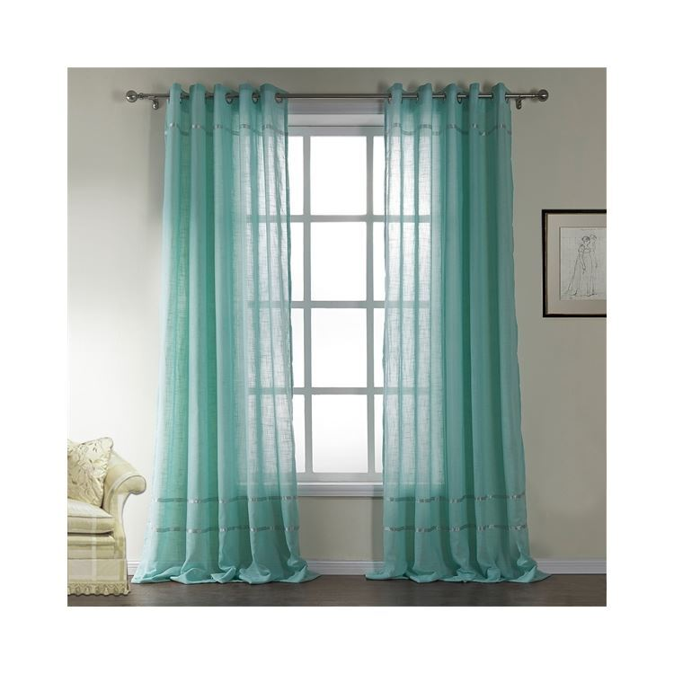 Door Side Window Curtains