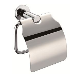 トイレットペーパーホルダー 紙巻器 トイレ用品 ペーパー収納 バスアクセサリー 真鍮製 クロム