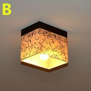 シーリングライト 玄関照明 天井照明 田舎風 織物 1灯-40W