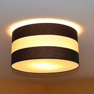 シーリングライト 天井照明 田舎風 織物 2灯