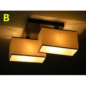 シーリングライト 照明器具 天井照明 玄関照明 田舎風 織物 2灯