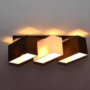 シーリングライト 天井照明 田舎風 織物 3灯