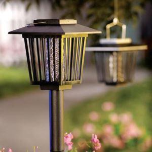 LEDソーラーライト ガーデンソーラーライト 蚊除く UV灯