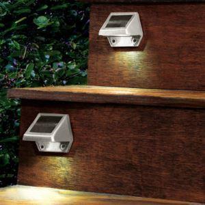 LEDソーラーライト ガーデンソーラーライト 4灯