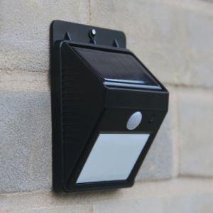 LEDソーラーライト PIRセンサー 人感センサーライト 高輝度