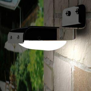 LEDソーラーライト 人感センサーライト ガーデンソーラーライト 16SMD