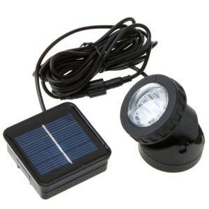 LEDソーラーライト ソーラースポットライト 防水性 6灯