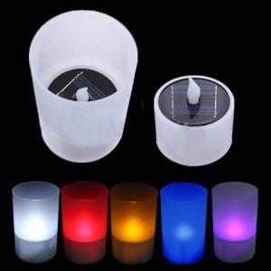 LEDソーラーライト 結婚式用 ロウソク