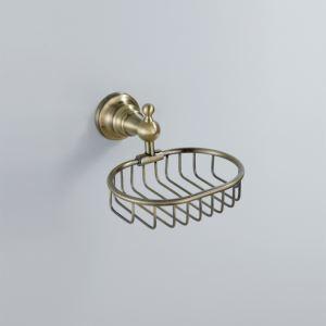 浴室ソープディッシュホルダー 石鹸ホルダー ブラス色 真鍮製
