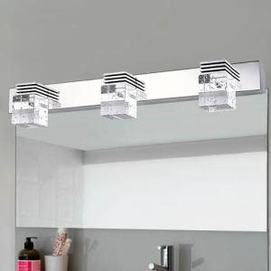 LEDミラ前用ライト クリスタル 壁掛けライト 3W/6W/9W/12W LED対応